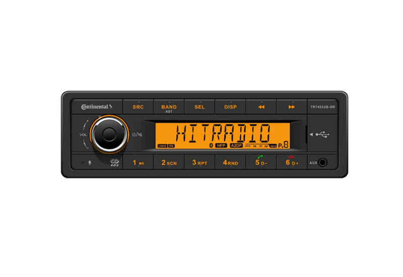 Vrachtwagen radio