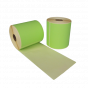 Zebra compatible etiket 102 x 150 mm groen 280 eti/rol kern 25 mm