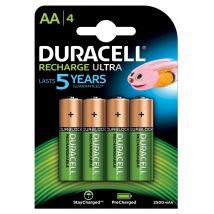 Duracell oplaadbare batterijen Recharge Ultra AA - Blister van 4 stuks