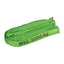 Rondstrop 2 ton groen - Kies werklengte