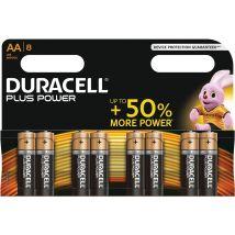 Duracell batterijen Plus Power AA - Blister van 8 stuks