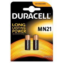 Duracell batterijen Alkaline Security MN21 - Blister van 2 stuks