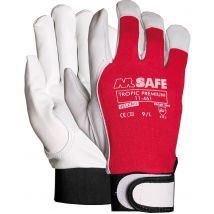 Werkhandschoen M-safe Tropic Premium nappaleder 11-461 - maat naar keuze