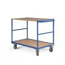 Tafelwagen 500 kg 850 x 500 mm - 2 laadvlakken