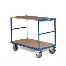 Tafelwagen 350 kg 1000 x 600 mm - 2 laadvlakken