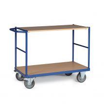 Tafelwagen 350 kg 1200 x 800 mm - 2 laadvlakken
