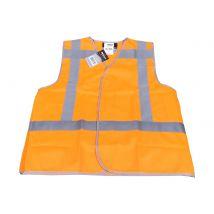 Veiligheidsvest M-Wear 0177 fluo oranje met RWS-strepen maat XL/XXL