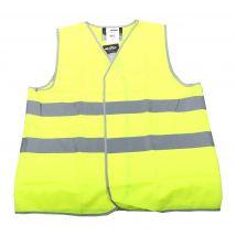 Veiligheidsvest M-Wear 0165 maat M/L | Verkeersvest  fluor geel voorkant