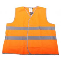 Veiligheidsvest M-Wear 0167 maat XL/XXL | Verkeersvest  fluor oranje voorkant