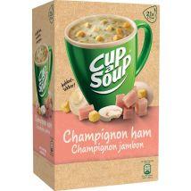 Cup-a-Soup Champignon ham - Pak van 21 zakjes