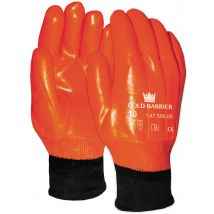 Werkhandschoen M-Safe 47-500 Winter HI-VIZ oranje PVC