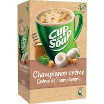Cup-a-Soup Champignon créme met croutons - Pak van 21 zakjes