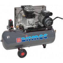 Mobiele Compressor Airmec KF 050350 M Oliegesmeerde Zuigercompressor