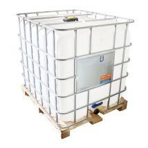 IBC Container A-keus Gereinigd 1.000 liter - Houten Onderstel