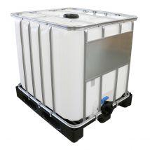 IBC Container Nieuw 1.000 liter Werit ECOline - Kunststof Onderstel