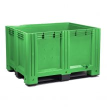 Kunststof Palletbox Groen 1200 x 1000