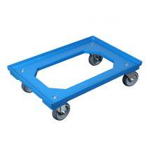 Transportroller Blauw 600 x 400 x 160 mm - open bodem