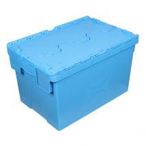 Distributiebak Blauw 600 x 400 x 400 mm