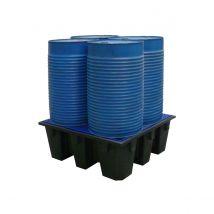 Lekbak kunststof 1280 x 1280 x 485 mm 450 Liter