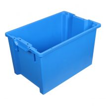 Draaistapelbak Blauw 600 x 400 x 350 mm