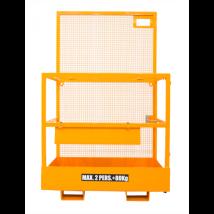 Veiligheidskooi voor heftruck en reachtruck voorkant