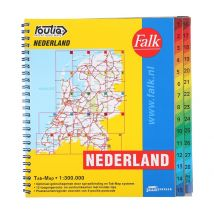 Wegenkaart Nederland Routiq Tab map
