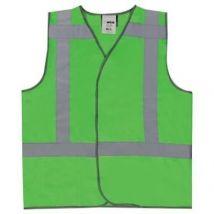 Veiligheidsvest M-Wear 0185 Fluo groen met RWS-strepen maat XL/XXL