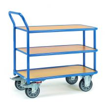 Tafelwagen 400 kg  850 x 500 mm - 3 etages