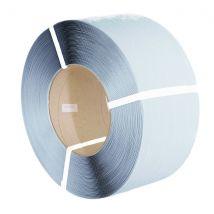 PP omsnoeringsband wit 12 mm x 0,55mm 3000 meter K406