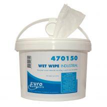 Euro Wet Wipe Handcleaner 150 doeken - Doos 4 emmers