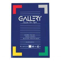 Gallery schrijfblok - A5 - gelijnd 70 g/m2 - 100 vel