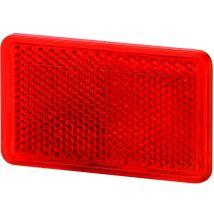 Plakreflector rood rechthoek 105 x 55 mm