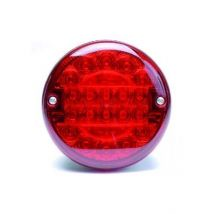 Mistacherlicht rood LED 24V Britax
