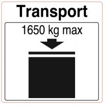 IBC etiket 1650