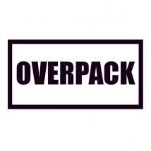 Etiket Overpack 105x74 mm - 1.000 etiket/rol