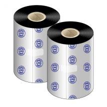 LMG 110 Ribbon inktlint FH Wax 90 mm x 450 meter - Doos à 12 rollen