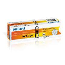 Philips W2x4,6D Glassokkellamp 12V 2,3W