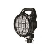 Werklamp Matador H3 breedstraler met penmontage en beschermrooster