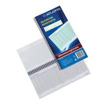 Atlanta KM-registratieboek - 40 vel - 2 stuks