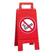 Waarschuwingsbord rood verboden te roken