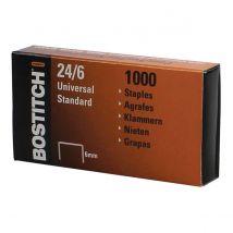 Bostitch nietjes 24-6 verzinkt, doos 1.000 nietjes