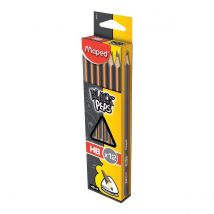 Maped potlood Black'Peps - 12 stuks