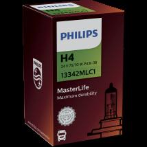 Philips MasterLife 24V H4 Halogeenlamp 75/70W Doosje