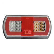 Achterlicht LED Rechts 5 functies 165 x 80 mm