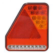 Achterlicht LED Rechts 5 functies 180 x 200 mm