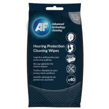 AF gehoorbescherming reinigingsdoekjes - Pak van 40 doekjes