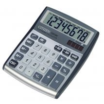 Citizen Allrounder bureaurekenmachine CDC-80 - zilver