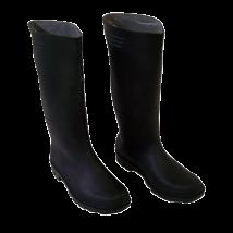 SAD Chemie laars | Zwart zuurbestendige laarzen maat 44/45