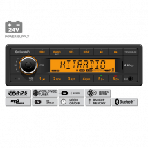 Continental radio 24V MP3/Bluetooth