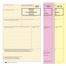 Certificaat van Oorsprong - 3 voud (minipak 25 sets)